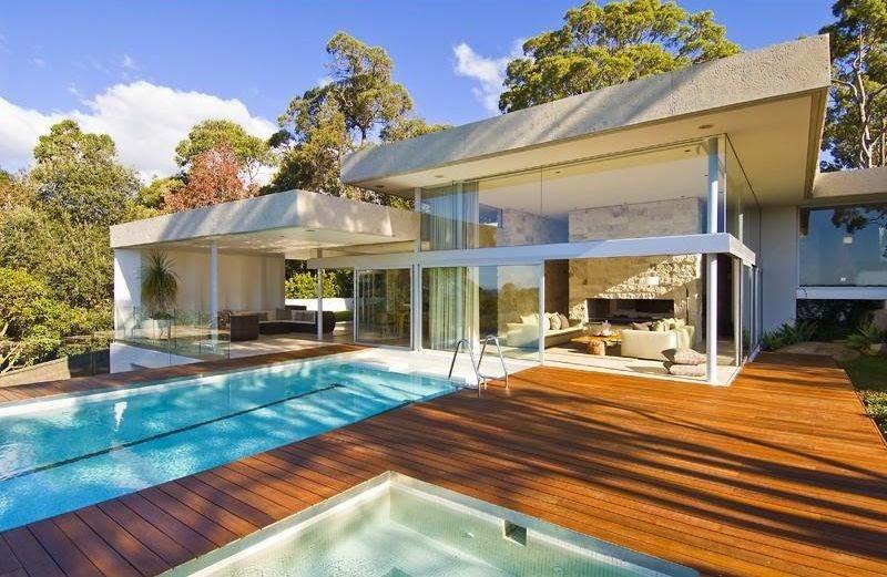 Fachadas de casas modernas fachadas de casas modernas un piso for Facciate case moderne