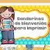 Banderines Grupales de Bienvenida para Imprimir PDF