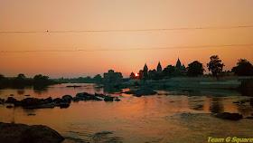 The Betwa River, Orchha