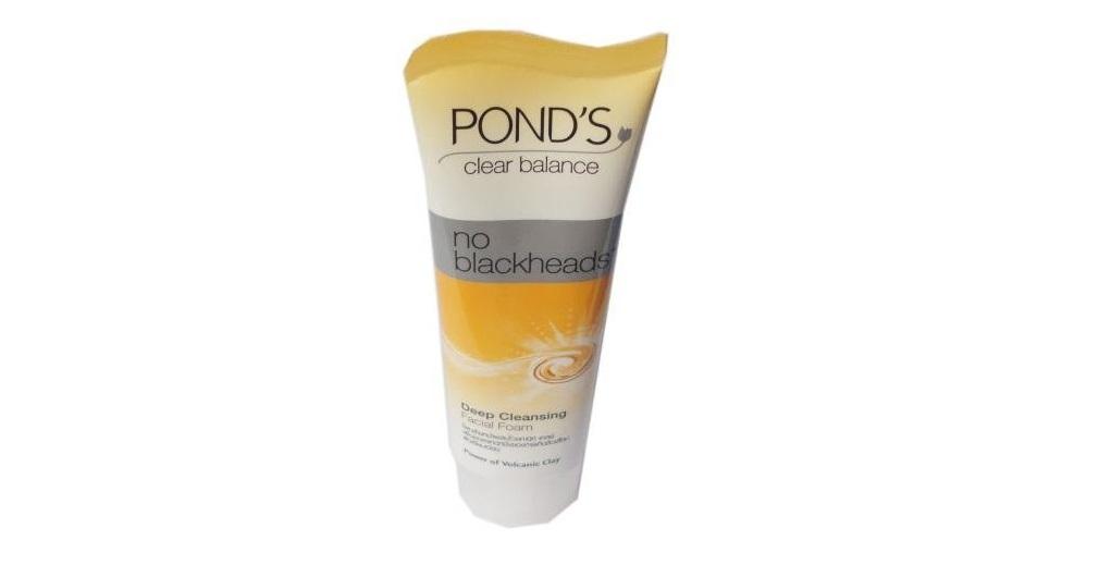 Penghilang Komedo Pond's Clear Balance No Blackheads Face Wash