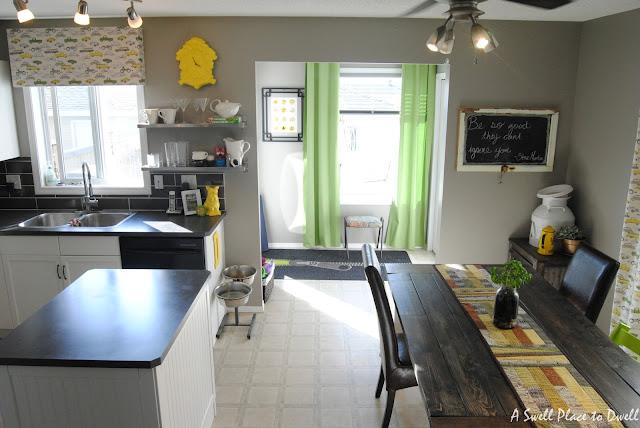 Budget Kitchen Remodel.  #paintedcabinets #kitchen