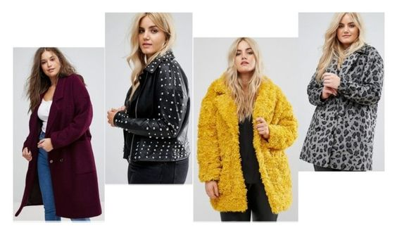 Asos Plus Size Coat Edit 2017