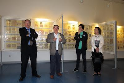 Inauguración Exposición filatélica 2016 en Mieres