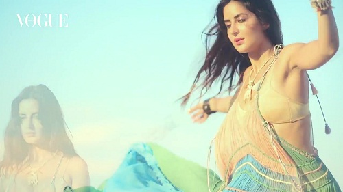 Katrina Kaif Bikini Photoshoot Behind The Scenes
