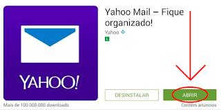 Como usar o Yahoo no celular