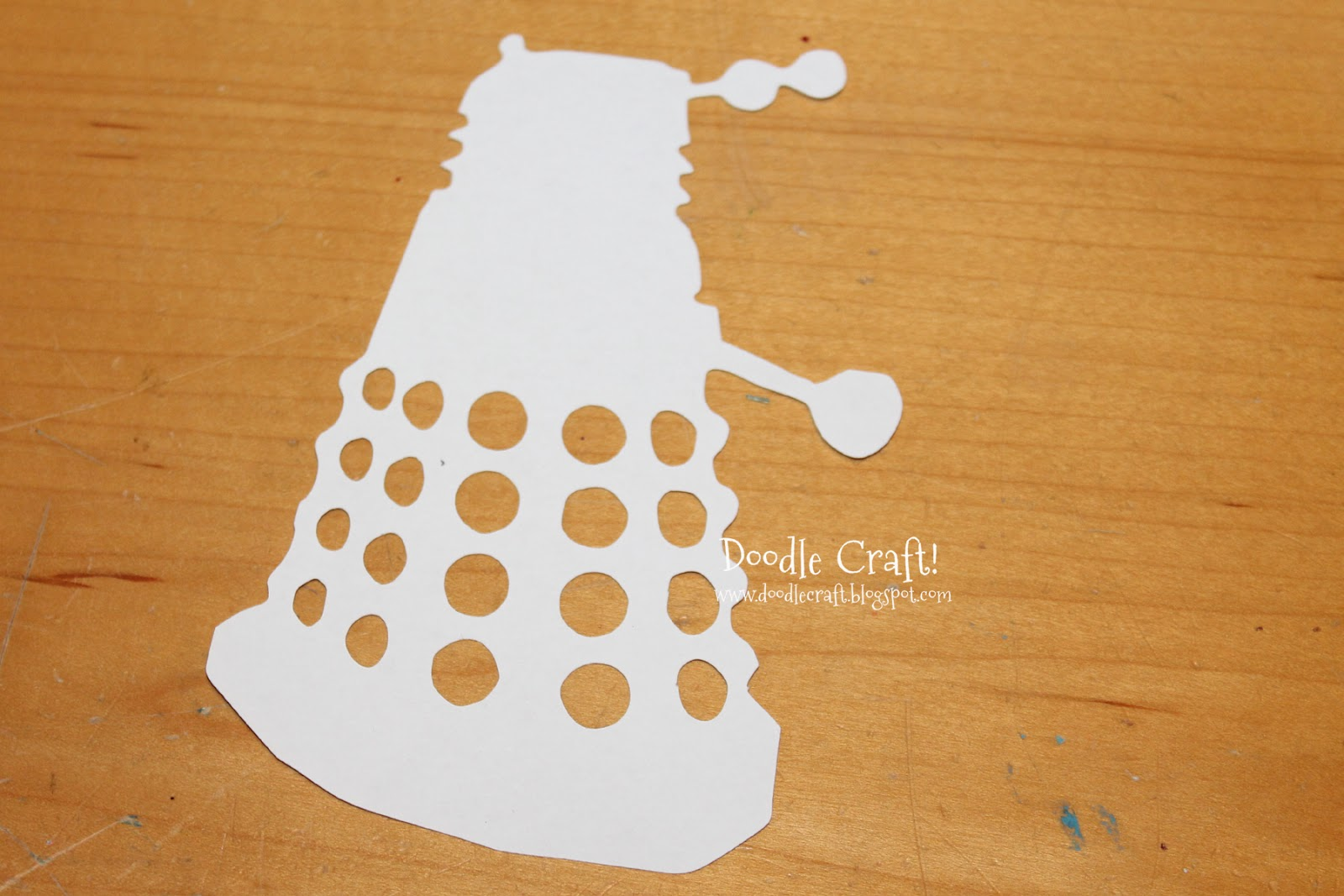 Doodlecraft Dalek Invasion With Rubber Stamps
