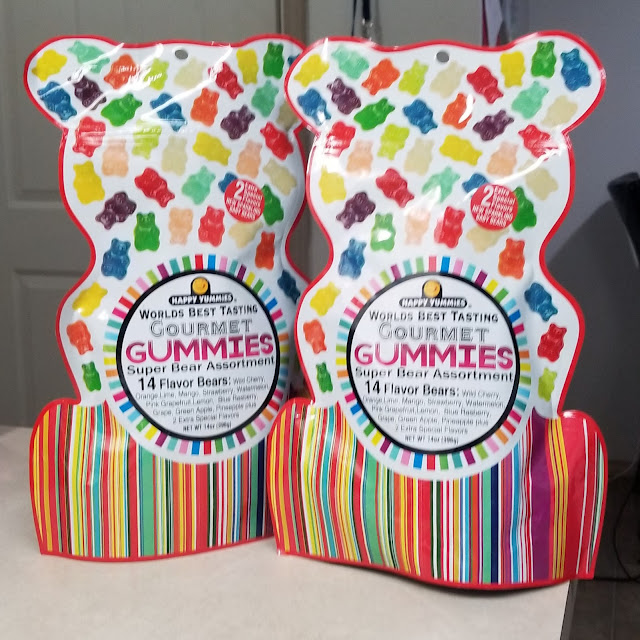 Happy Yummies Worlds Best Tasting Gourmet Gummies Super Bear Assortment