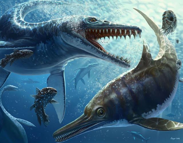 Prehistoric Ocean Animals