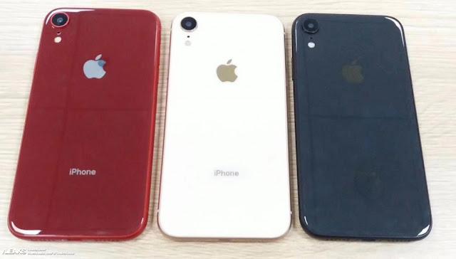 หลุด iPhone 6.1 นิ้วมี 4 สี และสามารถใส่ได้ 2 ซิม พร้อมราคาคาดการณ์