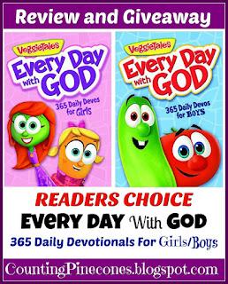 #VeggieTales #Giveaway #DailyDevotionals