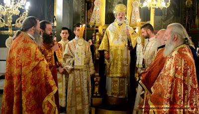 Η Αναστάσιμη Θεία Λειτουργία στον Ι.Ν. Αγίας Τριάδος. (ΒΙΝΤΕΟ)