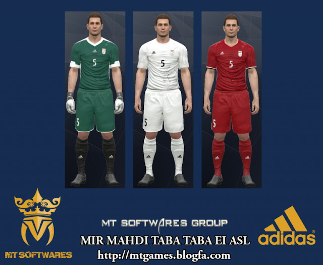 PES 2017 Iran World Cup 2018 Qualifiers Kit by MT Games