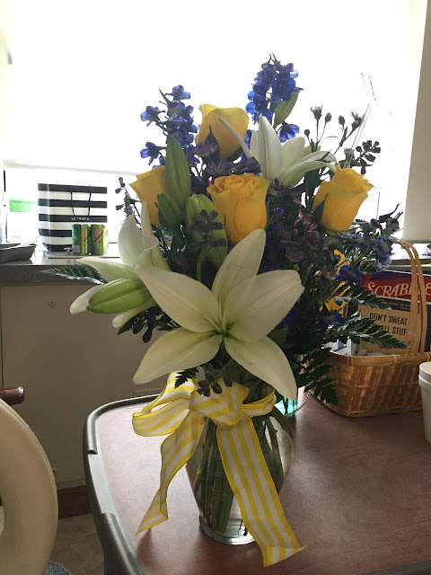 Beautifying the Broken Ankle, my broken ankle journey, breaking your ankle, flowers