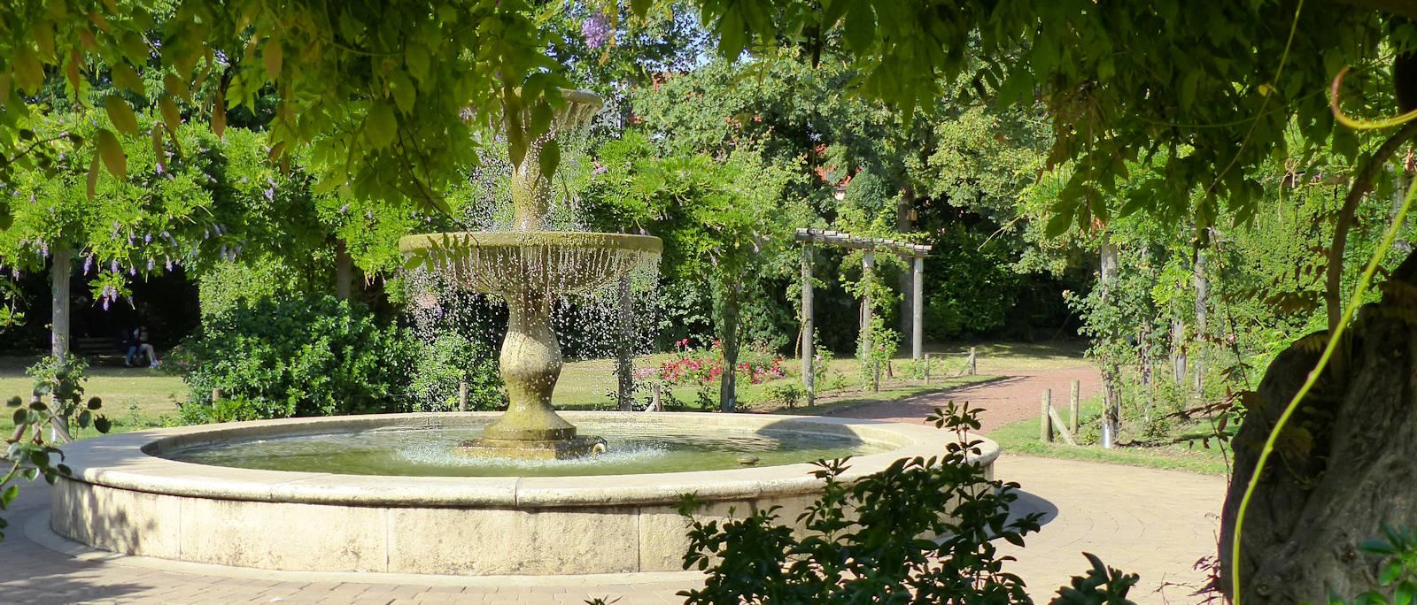 Jardin botanique, Tourcoing - Jardin à la française