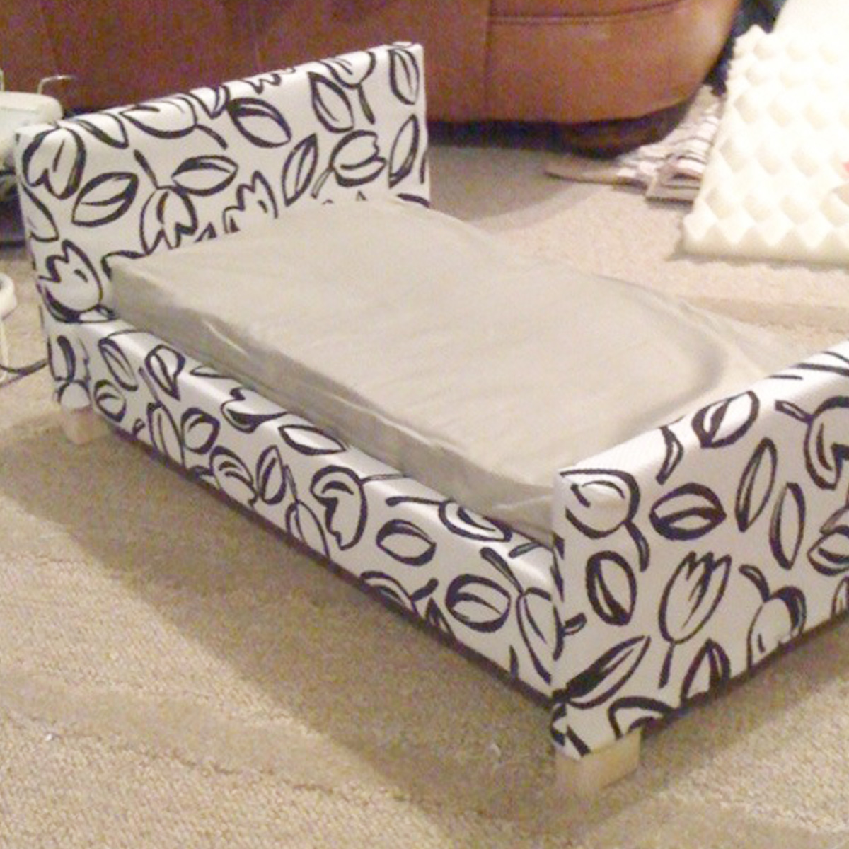 Upholstered American S Doll Bed Plans
