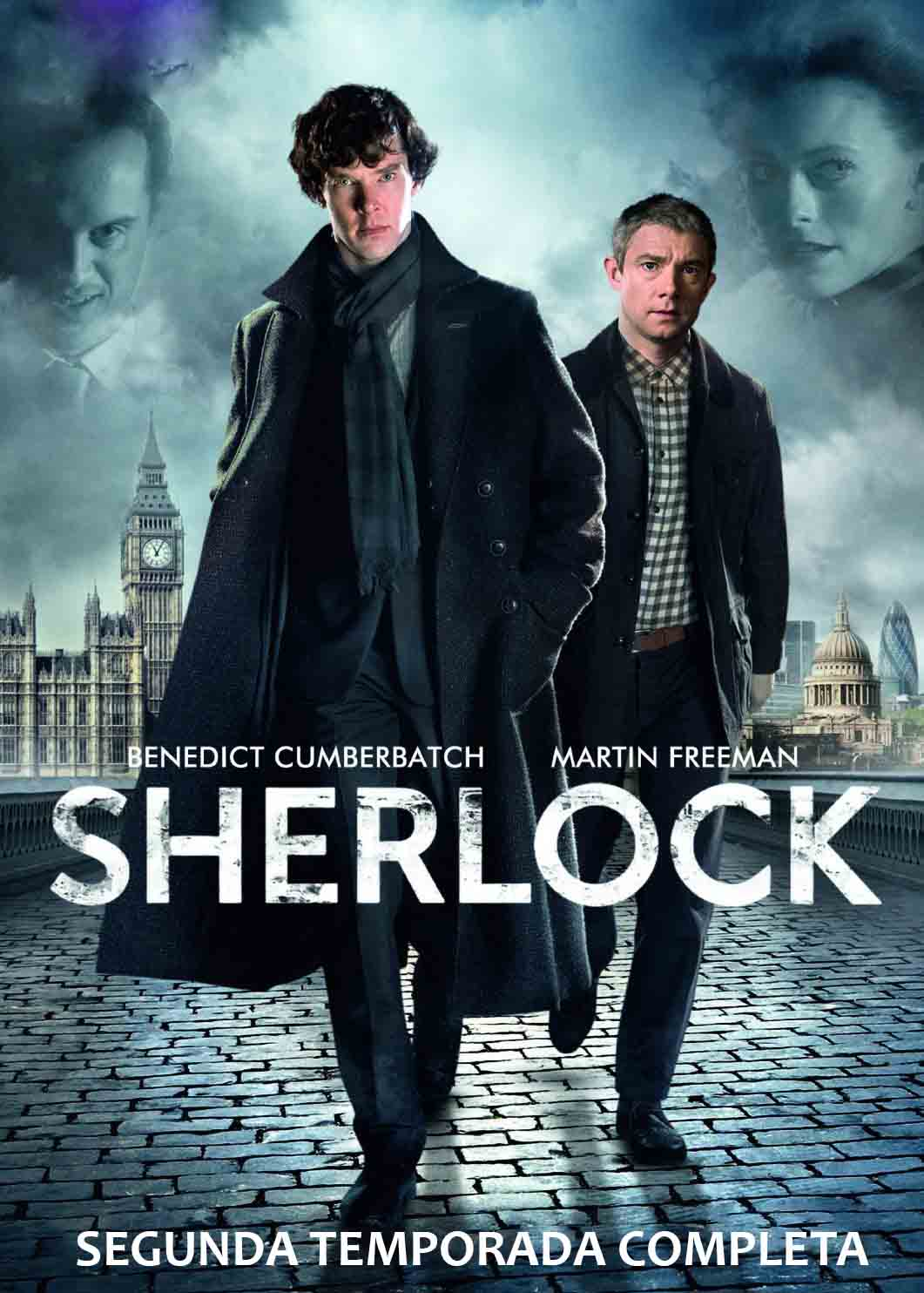 Sherlock 2ª Temporada Online Download Torrent – BluRay 720p Dual Áudio (2012)