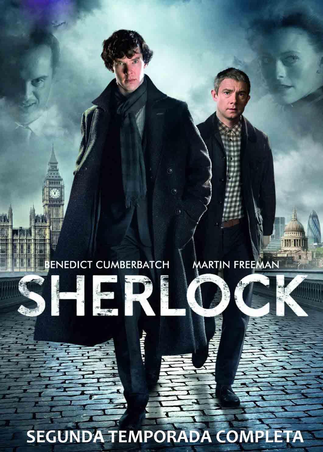 Sherlock 2ª Temporada Torrent - Blu-ray Rip 720p Dual Áudio (2012)