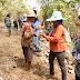Tiap Waktu Satgas TMMD Bersama Rakyat Terus Semangat Membangun Desa