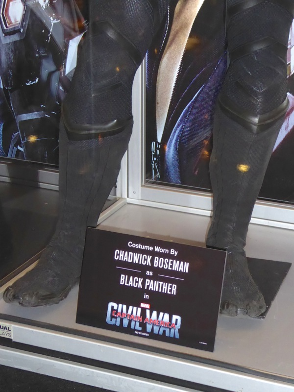 Black Panther boots Captain America Civil War