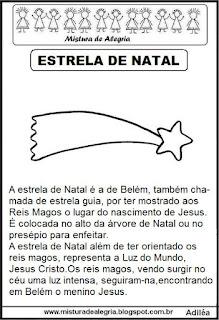 Texto sobre estrela  natal