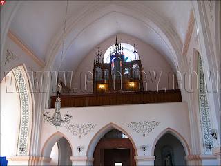 Внутреннее убранство костела Богоматери Руженцовой и святого Доминика в Ракове