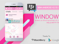 BBM Windows Phone Hello Kitty V2.13.1.14 Apk