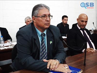 César Pantarotto, o Cesinha, vota pela redução de vereadores em Birigui