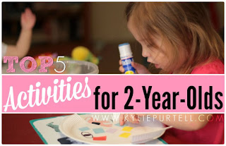 Top 5 Activities for 2-year-olds