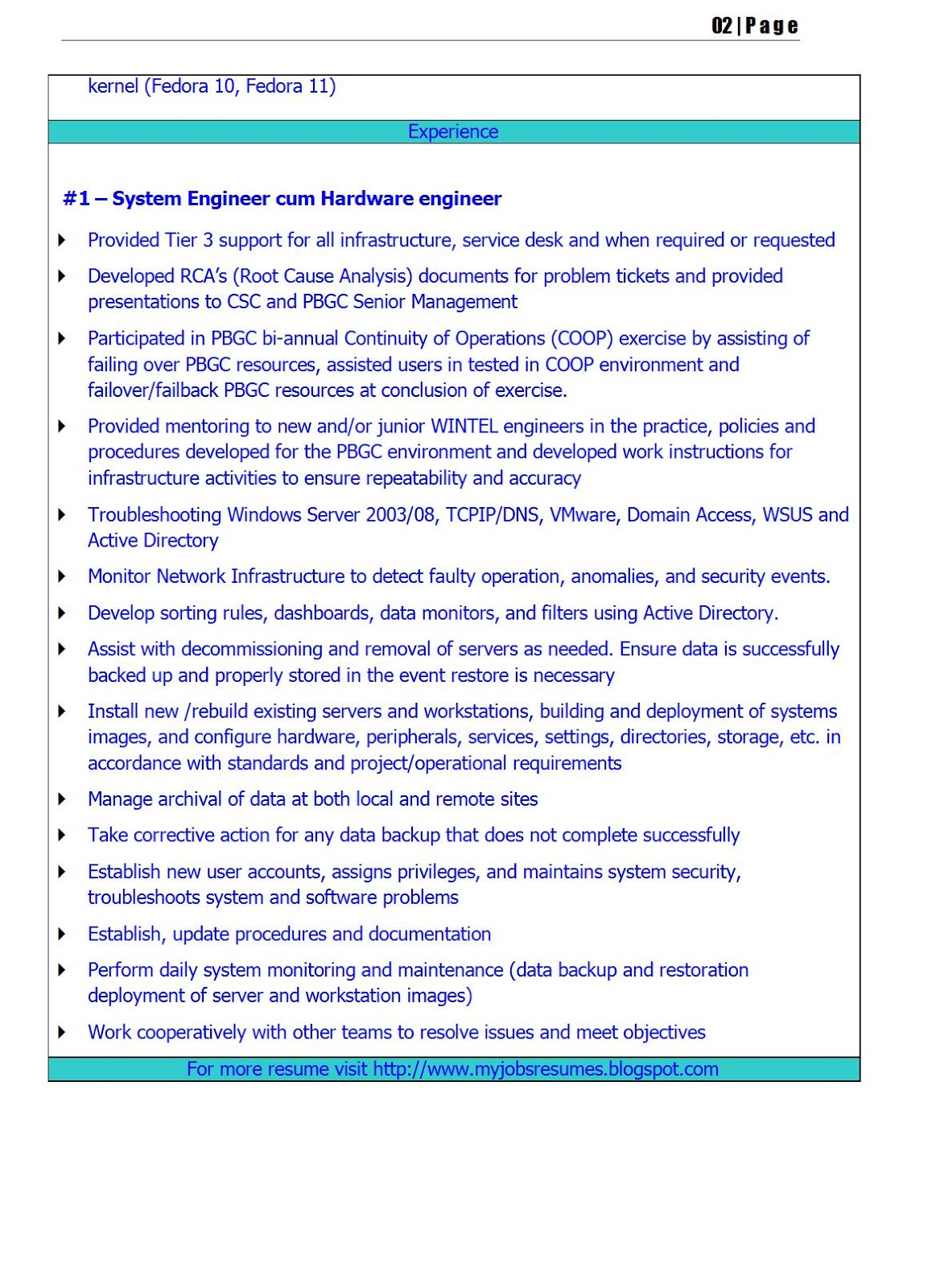 fresh jobs and free resume samples for jobs  cv for software engineering jobs