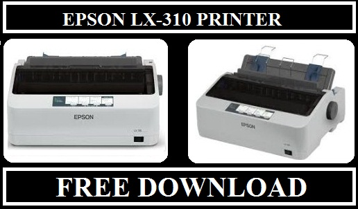 Epson LX 310 Printer, Free Download Drivers For Windows