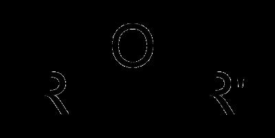 Gambar Struktur umum dari Eter(salah satu zat yang digunakan untuk anestesi)