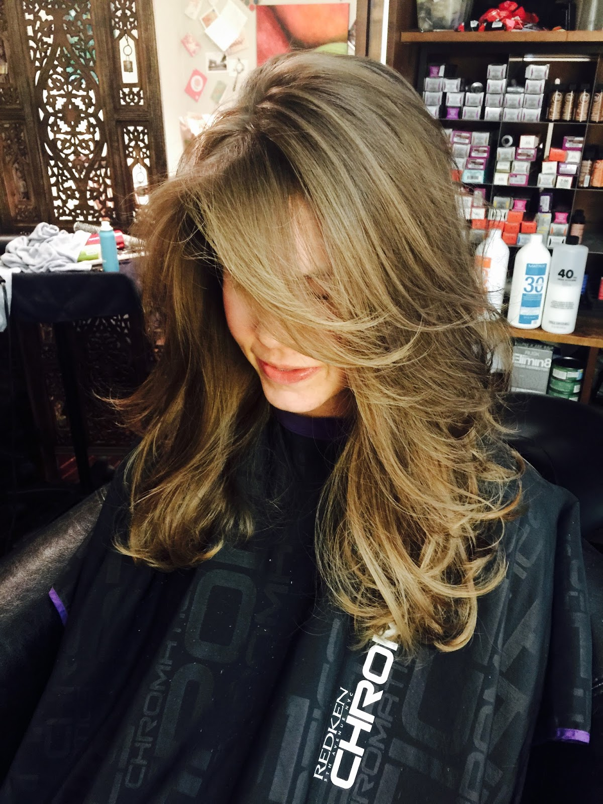 Salon Sovay Layered Haircut In Austin With Sovay Reeder
