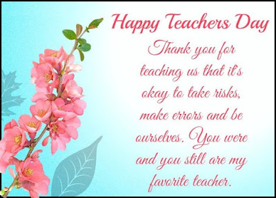 Teachers Day SMS