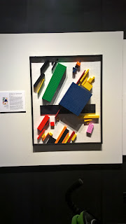 malevich in legos at art of the brick