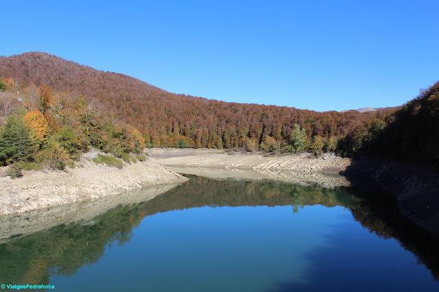 Selva d'Irati, Pirineu de Navarra, senderisme, colors de tardor