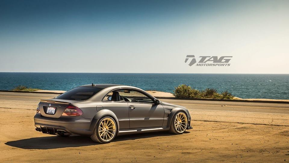 Mercedes benz w209 clk63 amg black series on hre for Mercedes benz m series