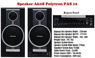 Speaker Aktif Murah untuk Karaoke
