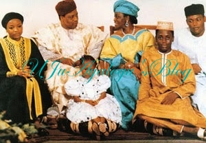 Former President, Ibrahim Babangida Gives Out His Pretty Daughter, Halimat in Marriage