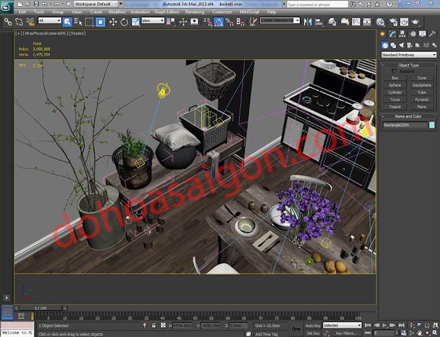 Đào tạo Đồ họa kiến trúc ( 3DMAX - AUCAD - REVIT - SKETCHUP - PHOTOSHOP ) ngắn hạn tại TP.HCM - 6