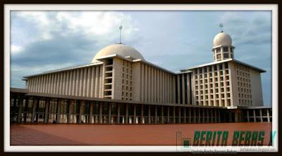 Islam, benih permulaan Islam, di depan Gereja Katedral, sebab Istiglal dibangun, Masjid, Indonesia, tak cuma di Indonesia, Berita Bebas, Ulasan Berita, nilai-nilai pluralisme,
