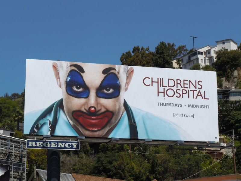 Childrens Hospital season 3 TV billboard