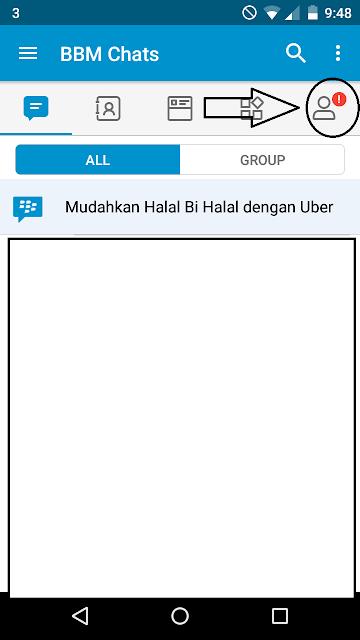 Cara Mengetahui Akun BBID Di Blackberry Messenger