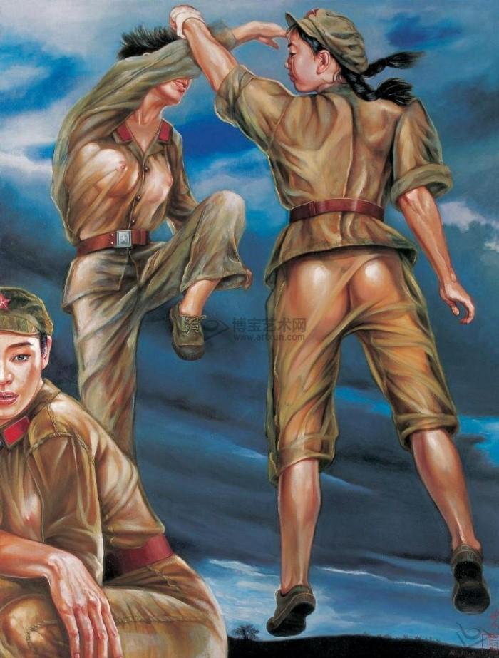 Девушки из Народно-освободительной армии. Hu Ming 9