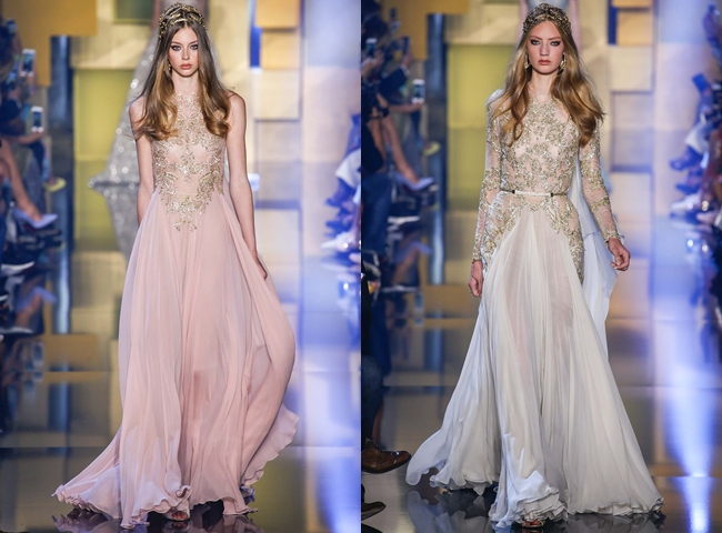 ELIE SAAB romantic dresses