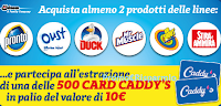 Logo Vinci 500 Gif Card da 10€ con Pronto, Duck, Oust, Mr.Muscle, Bio Shout e Stira&Ammira