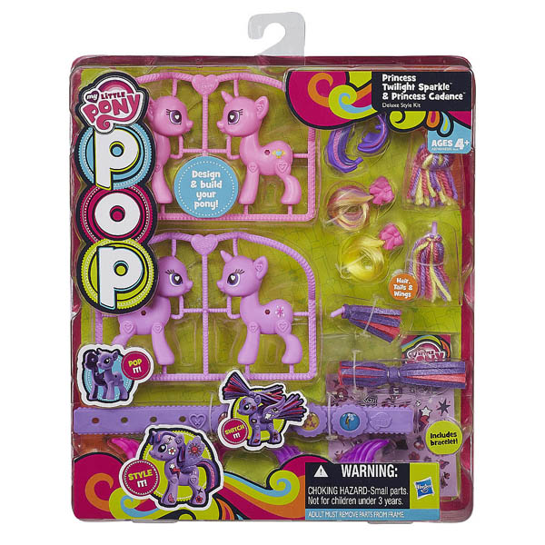 My Little Pony Pop Princess Twilight Sparkle and Princess Cadance Deluxe Style Kit