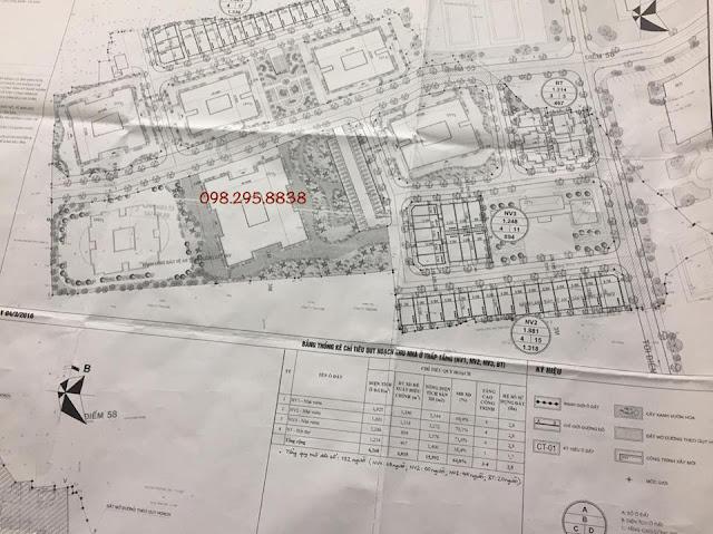 Phối cảnh tổng thể toàn khu chung cư Rose Town
