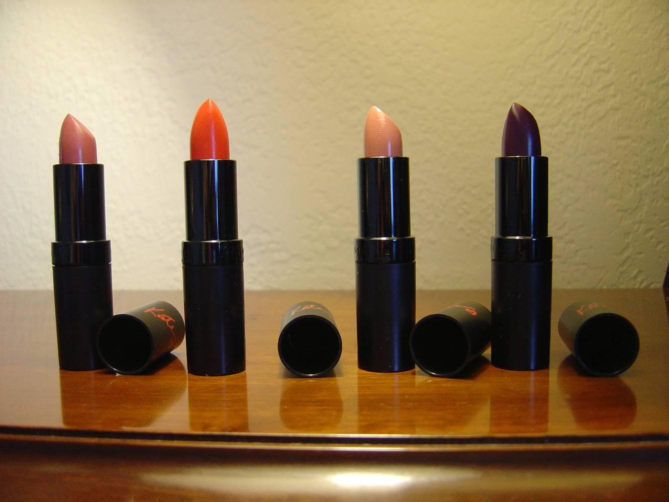 four more Rimmel Lasting Finish Intense Wear Lipsticks.jpeg