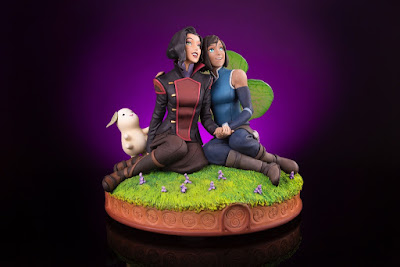 "The Legend of Korra ""Korra & Asami in the Spirit World"" Statue by Mondo"