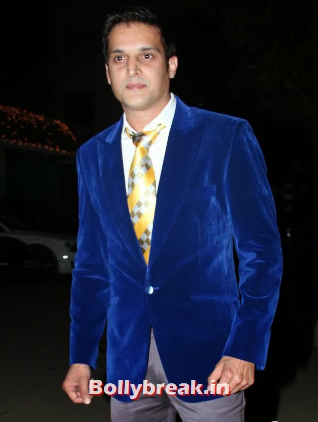 Jimmy Shergill, Raghav Sachar, Amita Pathak Wedding Reception Pics